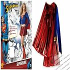 Halloween Women Sexy Supergirl Superwomen Adults Adult Costume Red L 10 New