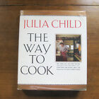 SIGNED THE WAY TO COOK by Julia Child HCDJ 1st 1989 cookbook cooking French