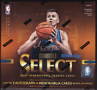 2015-16 PANINI SELECT NBA BASKETBALL HOBBY FACTORY SEALED BOX: 3 AUTO SWATCH PER