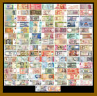 100 Pcs of Different World Mix Mixed Foreign Banknotes Currency Lot 38 Country