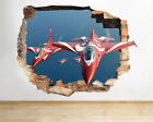 Wall Stickers Fighter Jets Spitfire Planes Smashed Decal 3D Art Vinyl Room F251
