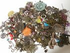 NEW METAL  MORE MIX Beads Lot Jewelry Making Supplies Filigree Lucite 1 2 lb