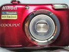 Nikon coolpix 16.1 megapixels compact camera with waterproof travel case