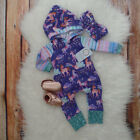 Unicorn Infant Baby Girl Boy Clothes Hoodies Jumpsuit Romper Bodysuit Outfit Set