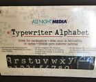 All Night Media Typewriter 62 Alphabet Foam Letters  Rubber Stamps