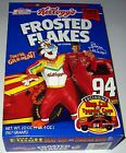 Vintage NASCAR BILL ELLIOTT Frosted Flakes Cereal Box Empty - It's GR-R-REAT!!!!
