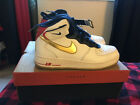 2012 Nike Air Force One Supreme USAB Team USA Olympic Edition Shoes Size 7Y