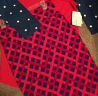 Lularoe S Cassie Skirt NWT Red Navy Checkered Cassie Only