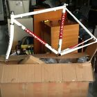 Lemond Zurich road bike frame white and red. It's in good condition.
