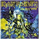 IRON MAIDEN Live After Death FULLY SIGNED Bruce Dickinson Murray Smith AUTOGRAPH