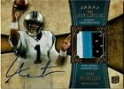 2011 TOPPS FIVE STAR CAM NEWTON AUTO 3 COLOR JERSEY RC 55