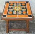 Vintage California Tile Table by Taylor Tilery 1930 - 1941 Original Finish in LA