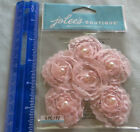 Jolees PINK SMALL FLORALS Pack of Dimensional Handmade Embellishments