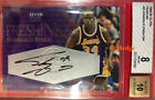 1999-00 FLEER ULTRA FRESH INK AUTO: SHAQUILLE O'NEAL #180 200 AUTOGRAPH