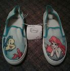 THE LITTLE MERMAID SHOES DISNEY ARIEL FLOUNDER AND SEBASTIAN NEW WITH TAGS