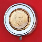 2011 US Presidential 1 Coin 3 Compartments SP Pill Box James A Garfield