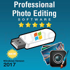 BEST 2017 Professional Photo Picture Image Editing Software Shop Windows USB