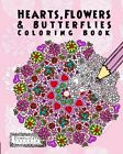 Hearts Flowers and Butterflies Anti Stress Color