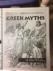 Imitation in Writing  Greek Myths 3 by Matt Whitling 2000 Paperback