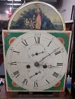 ANTIQUE ENGLISH SCOTTISH SIGNED TALL CASE GRANDFATHER 86 CLOCK CIRCA 1800