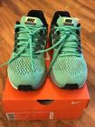 Nike Air Zoom Structure 20 Electro Green Ghost White Mens SIZE 7 RUNNING SHOE