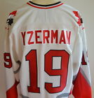 Vintage Steve Yzerman Authentic Bauer Team Canada Olympic Jersey L Adult