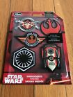 DISNEY STAR WARS EMBROIDERED PATCHES BADGES SET OF 5 NIP
