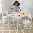 Kid Kraft Aspen Table 2 Chair Set White Sturdy Wood Construction Top Quality New