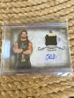 WWE Seth Rollins 2016 Topps Undisputed Silver Autograph Relic Card 50