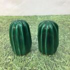 Cactus Southwestern Mexico Cowboy Salt and Pepper Shakers Mid Century Vintage