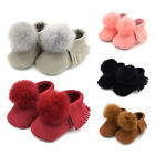 US Stock Newborn Baby Infant Winter Boots Toddler Warm Soft Crib Shoes Sneakers