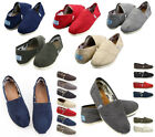 HOT ITEMS Fashion Womens Classics TOM Loafers Canvas Slip On Flats Shoes Oxford