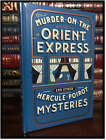 Murder on the Orient Express Mysteries A Christie Sealed Leather Bound Hardback