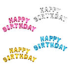 13Pcs HAPPY BIRTHDAY Letters Shaped 16 Foil Balloons Shower Party Decoration