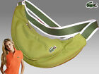 LACOSTE Ladies Womens Shoulder Backback Bag Casual 2.11 Fennel Green AUTHENTIC