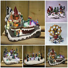 NEW Christmas Village Nativity Scene Ornament Xmas decoration LED Lights