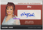 2011 TOPPS AMERICAN PIE AUTO: NAOMI JUDD - AUTOGRAPH COUNTRY MUSIC