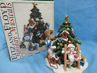 Fitz and Floyd The Flurries Holiday Musicals Music Box