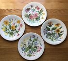Enoch Wedgwood Collector Plate Wild Flowers of the United States set of 4