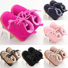 USA 0 18M Newborn Girl Boy Baby Newborn Infants Booties Fur Boots Warm Shoes