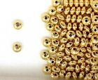 Gold Filled 5mm Rondelle Spacer Beads for Beading Designs  Jewelry Projects