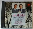 Brahms Sonatas for Cello Piaano Yo-Yo Ma Emanuel Ax (CD2221)
