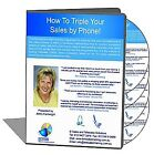 How to Triple Your Sales by Phone 4 hour live workshop with workbook CD DVD