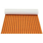 95x47 EVA Foam Teak Floor Sheet Boat Car Decking Yacht Mat Self Adhesive 5mm