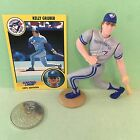 KELLY GRUBER 1991  STARTING LINEUP open loose BLUE JAYS  COIN +  CARD