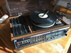 Sony HP-318 Stereo Music System Record Turntable 8 Track Combo Radio Receiver