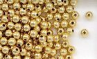 Gold Filled Round Spacer Beads 5mm Seamless for Beading or Jewelry Making