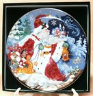 Fitz & Floyd plate1993 Father Frost & The Celebration of Winter limited Edition