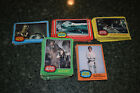 STAR WARS Trading Cards 1977 Topps Lot Series 1 2 3 4 5 Incomplete Set Vintage