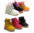 New Baby Toddler Girls Lace Up Ankle Boots Casual Shoes 3 Colors Size 6 11